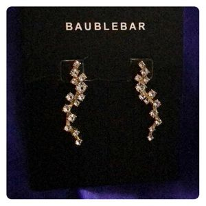 NWOT Baublebar cz earrings